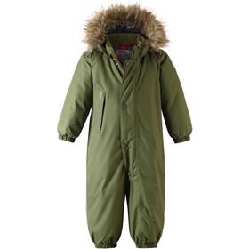 Reima Gotland Winter Overall Toddler Khaki Green